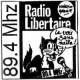 Logo de Radio Libertaire
