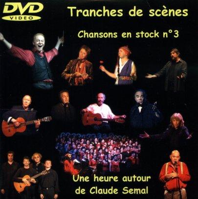 pochette du DVD Tranche de scène n°3